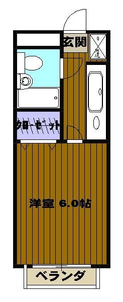 狭山ミキハウス 00202号室の間取り