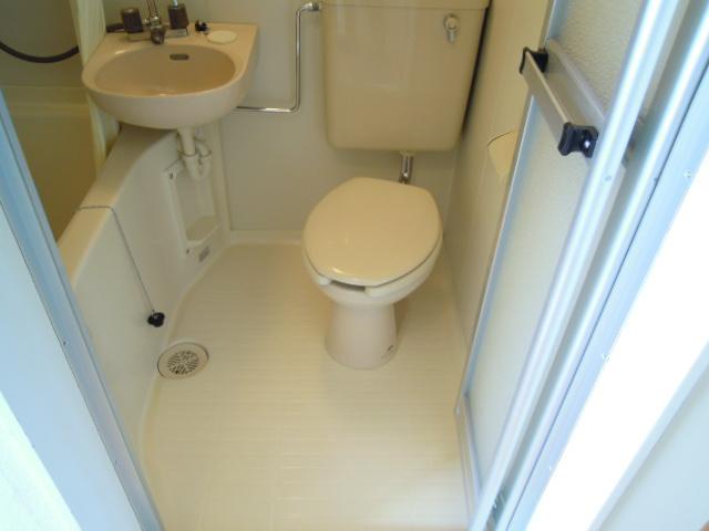 メゾン21 203号室のトイレ
