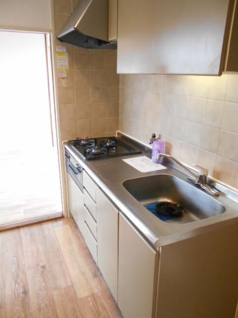 カステルセゾン 301号室のキッチン