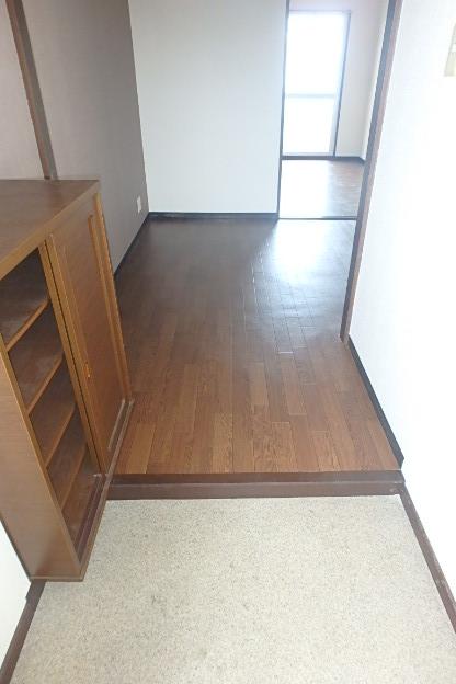 グランドステータス林 304号室の玄関