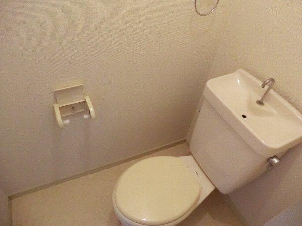 レピュート勝川Ⅱ 204号室のトイレ