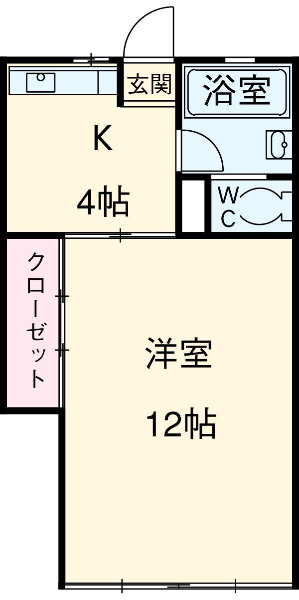 吉田ビル 403号室の間取り