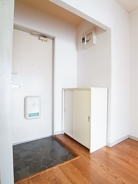 ランドロードヌマタA 02030号室の玄関