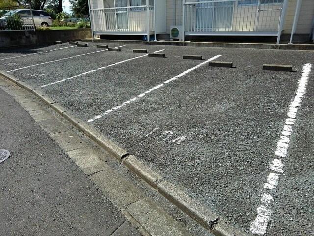 ランドロードヌマタA 02030号室の駐車場