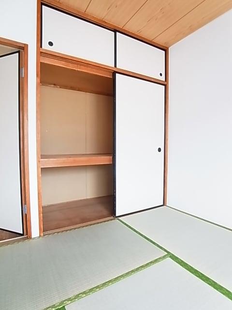 ランドロードヌマタA 02030号室の収納