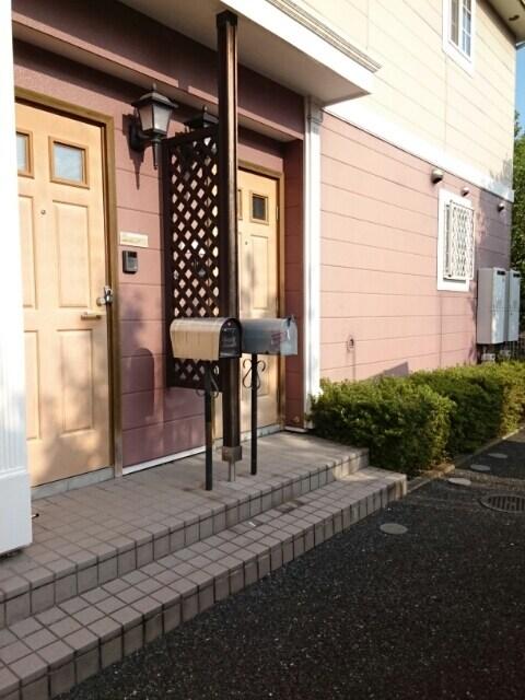 ロイヤルメゾンD 01020号室のバルコニー
