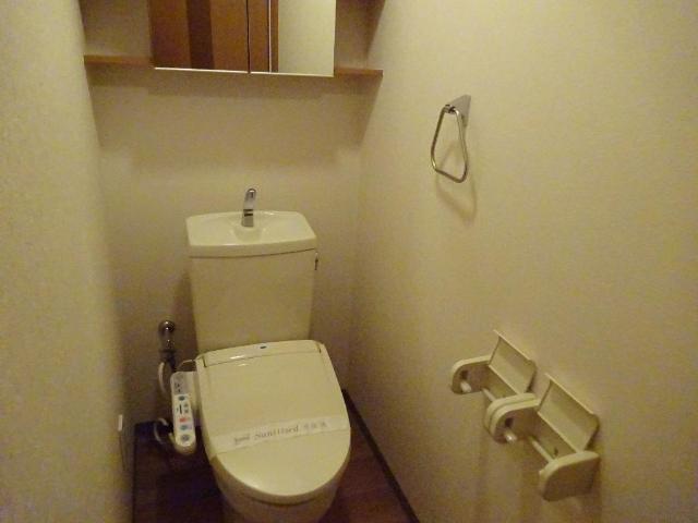 パールハウス 102号室のトイレ