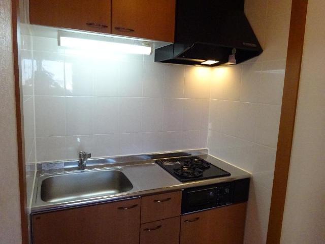 パールハウス 102号室のキッチン