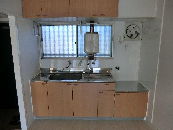 コーポ野崎第2 206号室のキッチン