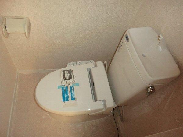 コーポ野崎第2 206号室のトイレ