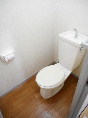 ランドロードヌマタA 02020号室の風呂