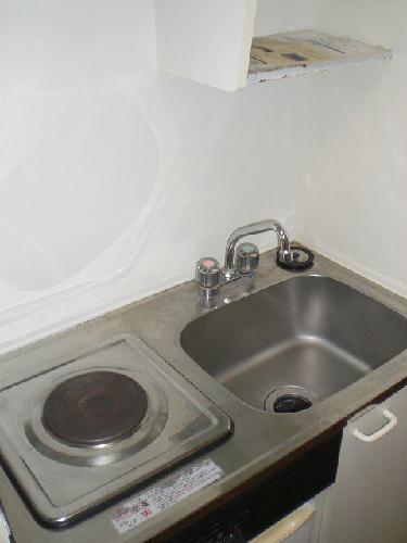 レオパレス白山第6 206号室のキッチン