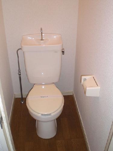 レオパレス白山第6 206号室のトイレ
