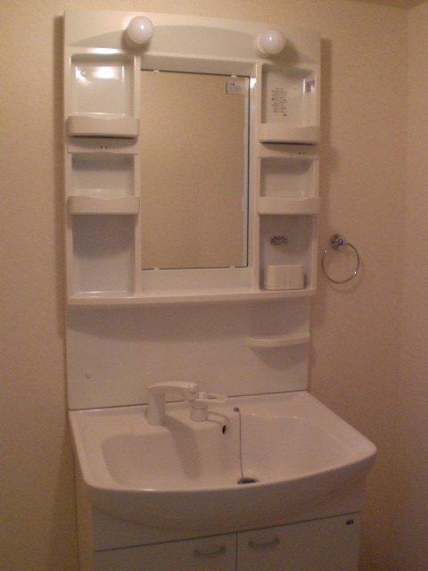 シャルマン門弟山 102号室の洗面所