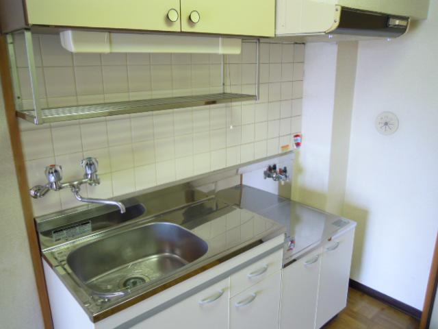 キャビン銀生 20A号室のキッチン