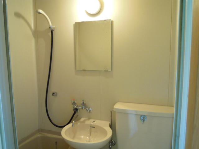 キャビン銀生 20A号室の洗面所