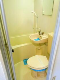 上福岡第2宝マンション 207号室の風呂