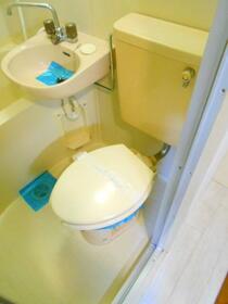 上福岡第2宝マンション 207号室のバルコニー