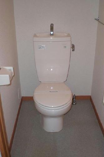 レオパレスSAKURA 206号室のトイレ