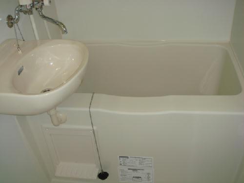 レオパレス富士 215号室の風呂