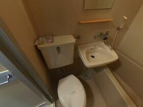 ドゥエルみなせ 307号室のトイレ