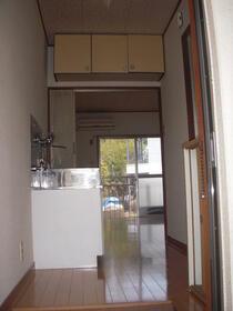 サンアベニュー獅子山 206号室の玄関