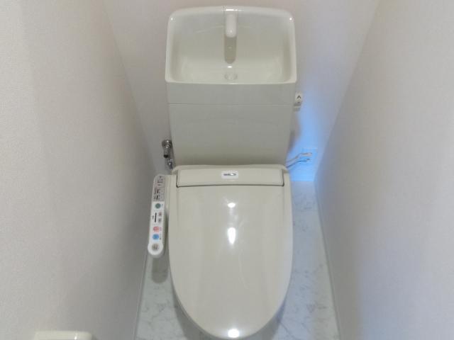 ミカーサ八木町 301号室のトイレ