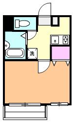 YSマンション 201号室の間取り
