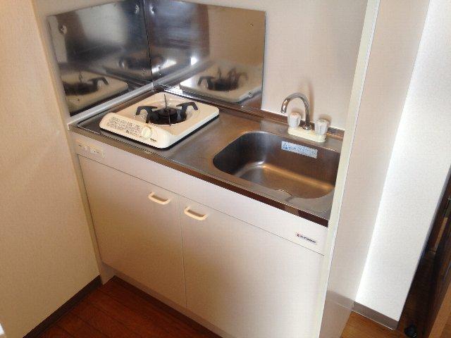 YSマンション 201号室のキッチン