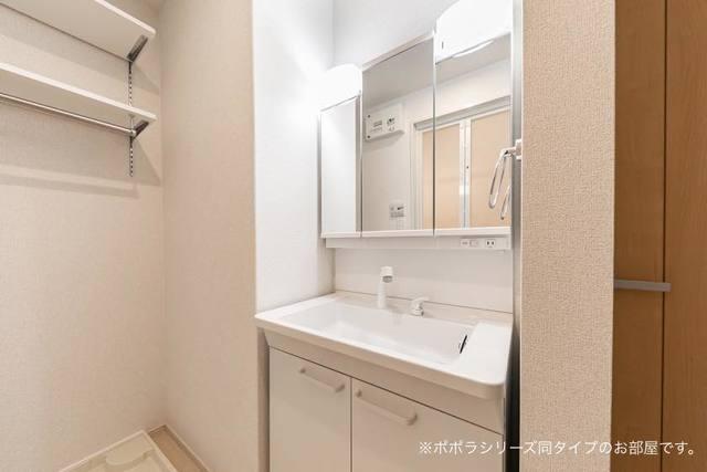 アドニスB 01010号室の洗面所