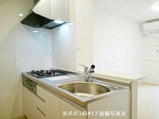 アドニスB 01010号室のキッチン