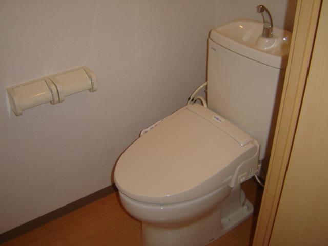 グリーンガーデン 202号室のトイレ