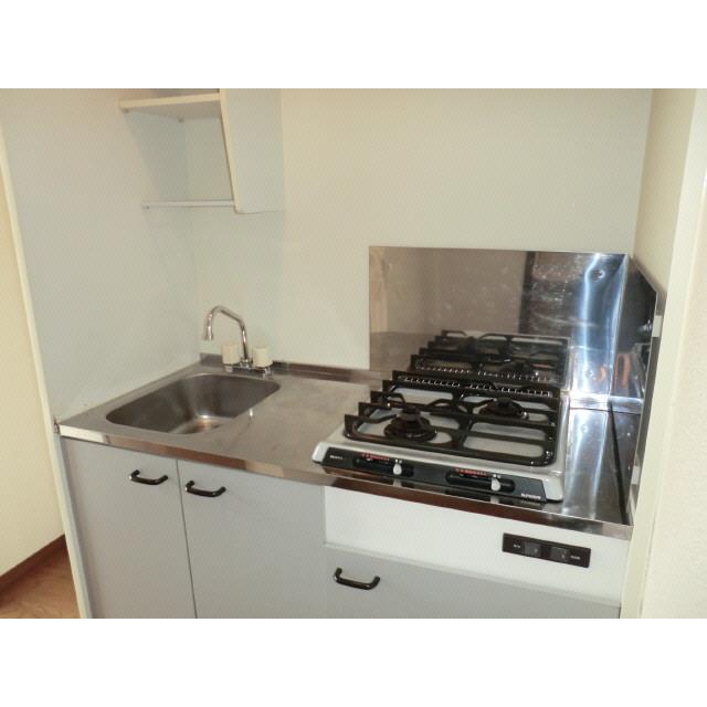 アンプルール ブワ Reve Ⅰ 203号室のキッチン