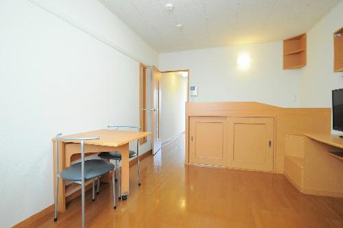 レオパレスアンティーク 108号室のキッチン