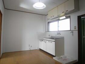 的場ロイヤルコーポⅠ 202号室のキッチン