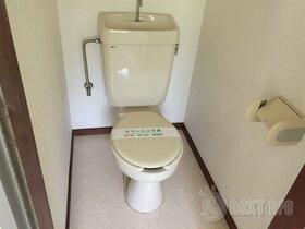 コーポ内坪 207号室のトイレ