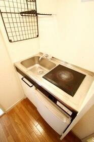 ディアコートⅠ 101号室のキッチン