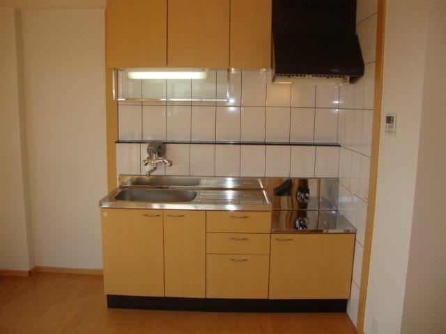 G-SHINE 101号室のキッチン