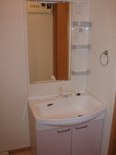 ディアコート 105号室の洗面所