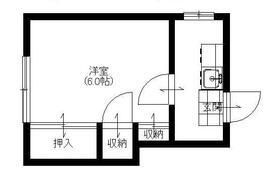第三豊荘・3-2号室の間取り