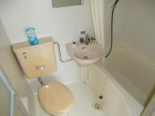 アンシャンテ モリモト 203号室の風呂