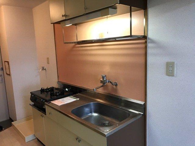 アネックスミヤタ捨号館 103号室のキッチン