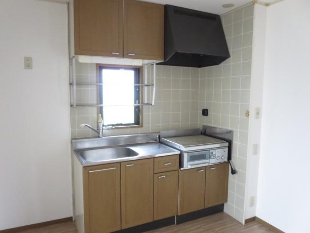 ケイズ河渡B 206号室のキッチン