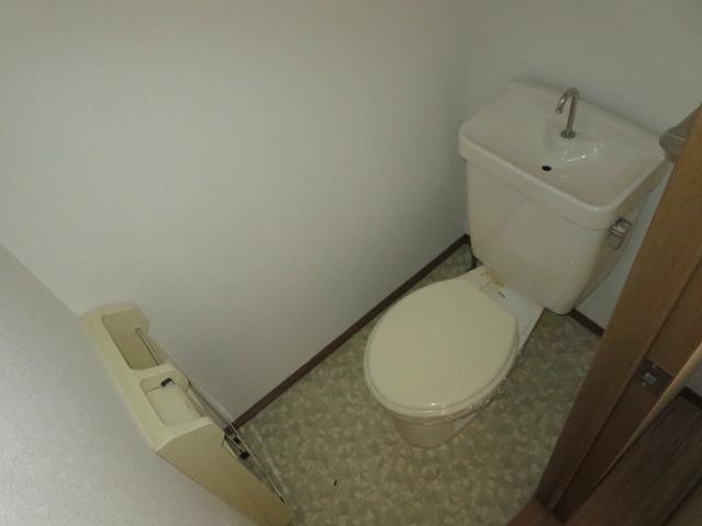 ケイズ河渡B 206号室のトイレ