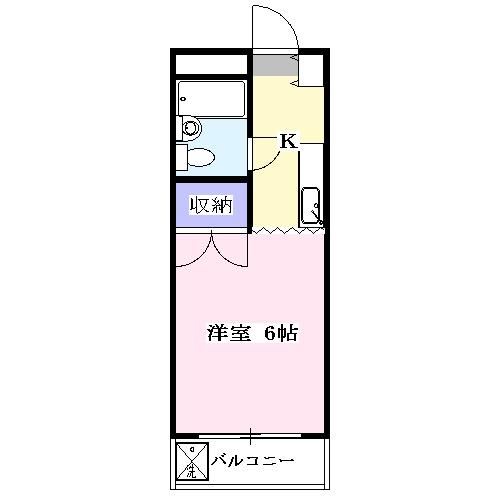ジュネス狭山台 00212号室の間取り