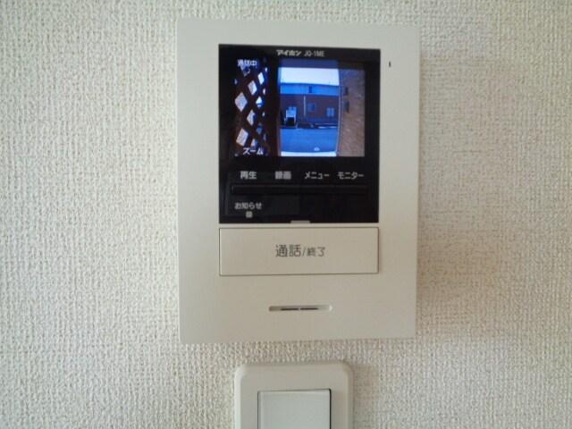 ファミーユさかほぎP 02040号室のセキュリティ