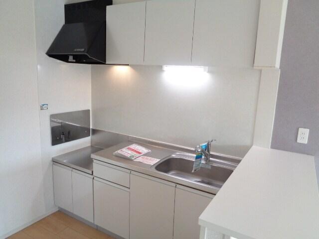 ファミーユさかほぎP 02040号室のキッチン