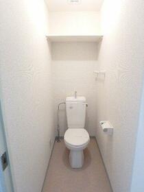 ベルメゾン 401号室のトイレ