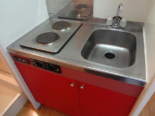 レオパレスWhiteField 202号室のキッチン