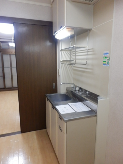 アンフルーヴ 102号室のキッチン
